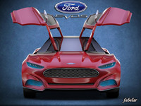 Ford evos 3D models