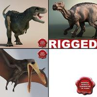 Ornithopod 3D models