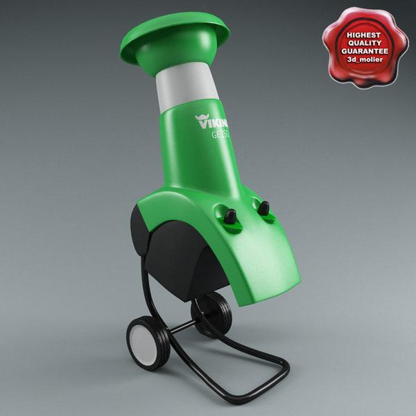 Electric Shredder Viking GE 150 3D Models