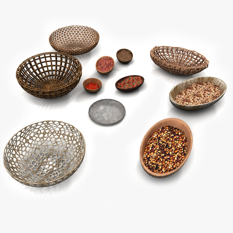 Woven Basket Textured