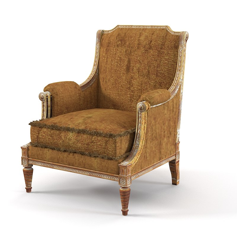 Provasi 0692 classic armchair arm chair0001.jpg