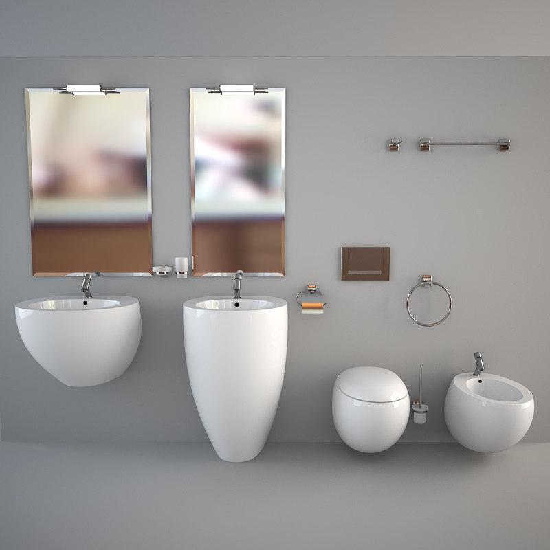 Set bath bathroom max for Decor 07834