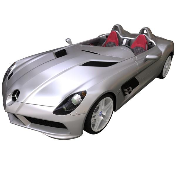 Mercedes Stirling Moss 3D Models