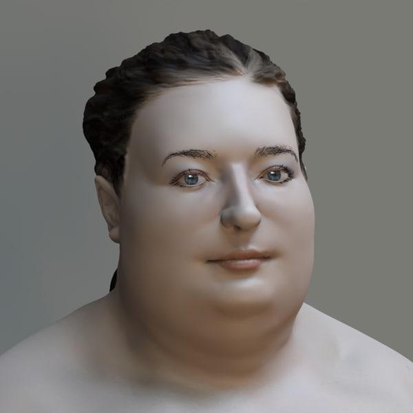 Big Nude 3D Models