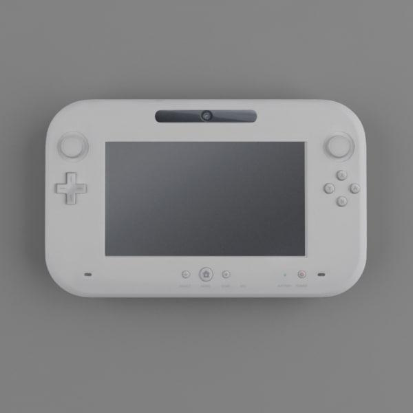 Wii U Controller 3D Models