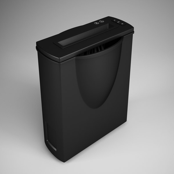 CGAxis Paper Shredder 17 3D Models