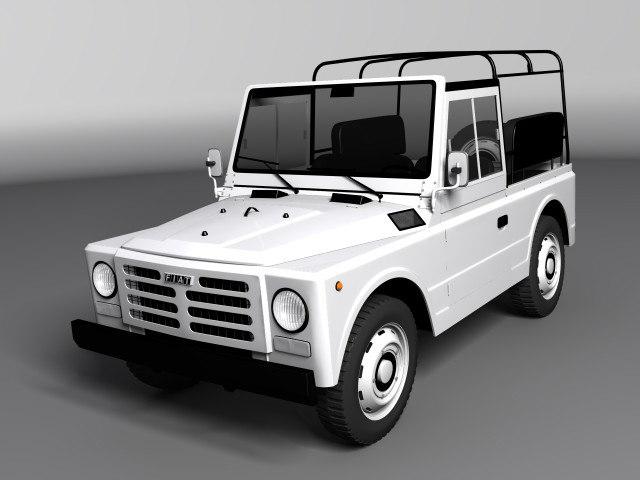 Fiat Campagnola SWB 1974-1979