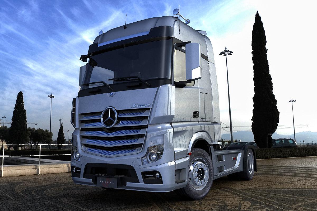 Mercedes Benz Actros 2012