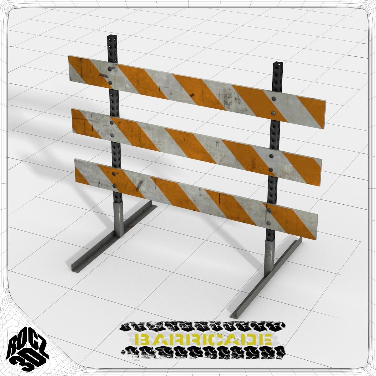 Barricade_3d Model_Textured.jpg