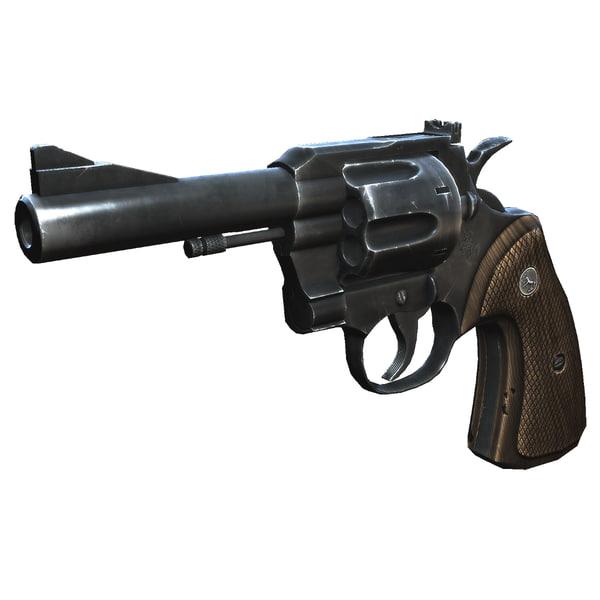 357 Revolver 3D Models