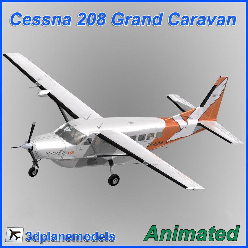 Cessna 208 Grand Caravan Sounds Air