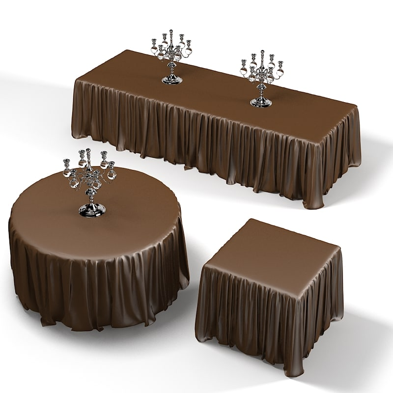Dining restaurant conference banquette  table tablecloth candleholder fitted draped gathered shirred siedes linen SQUARE ROUND .jpg