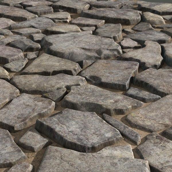 Old stones #08 Texture Maps