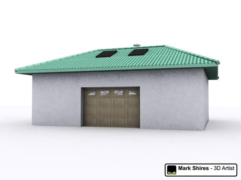 3d building garage model for 3d garage builder