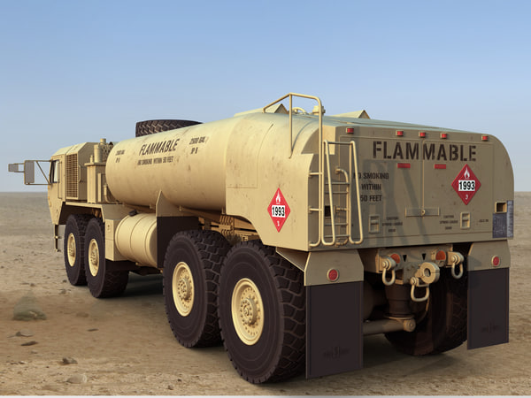 Hemtt a4 m978 fuel tanker 3D Models