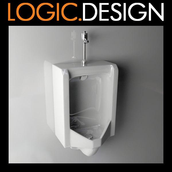 Urinal 3D Models