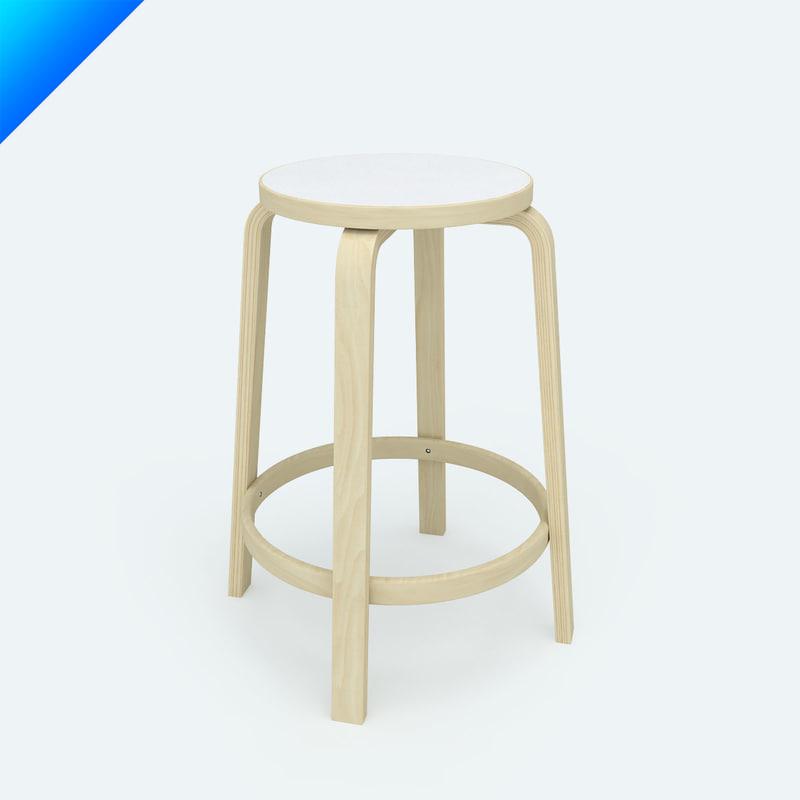 Maya chair 64 for Chair 3d model maya