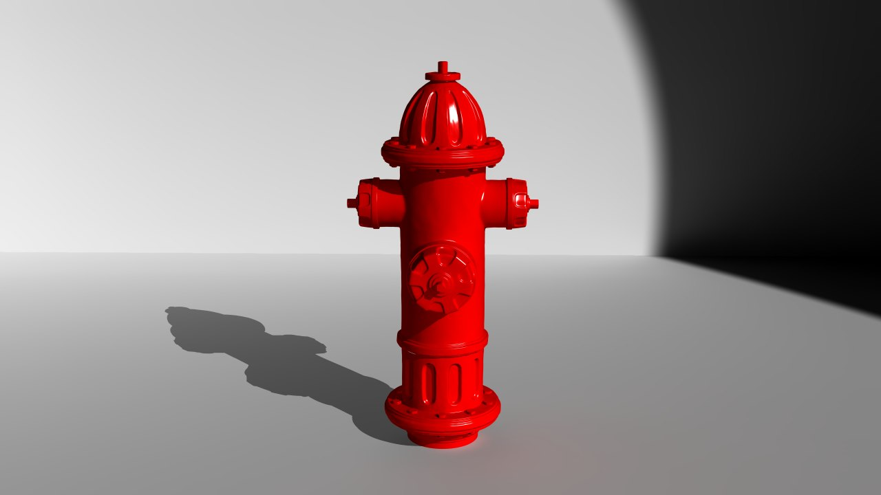 Fire Hydrant HIGH-POLY
