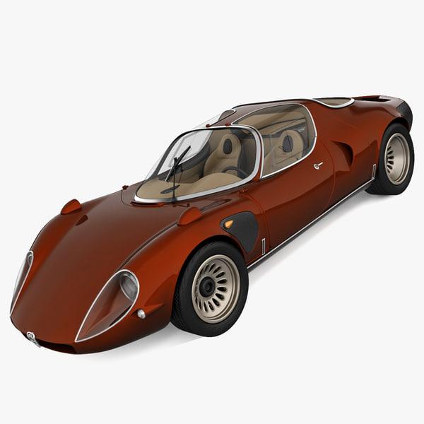 Alfa Romeo Stradale 3D Models
