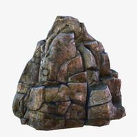 rock 3d models