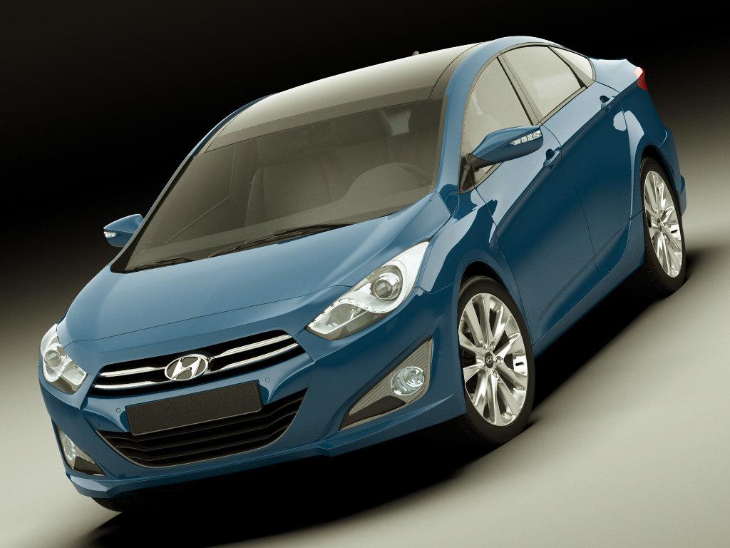 Hyundai i40 2012 sedan