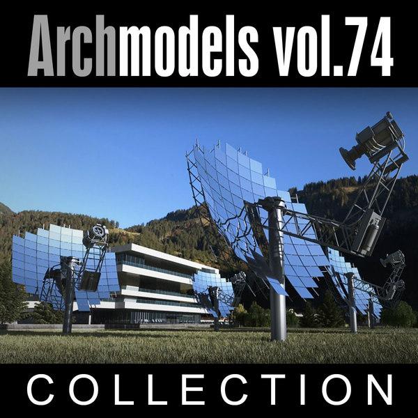 Archmodels vol. 74 3D Models