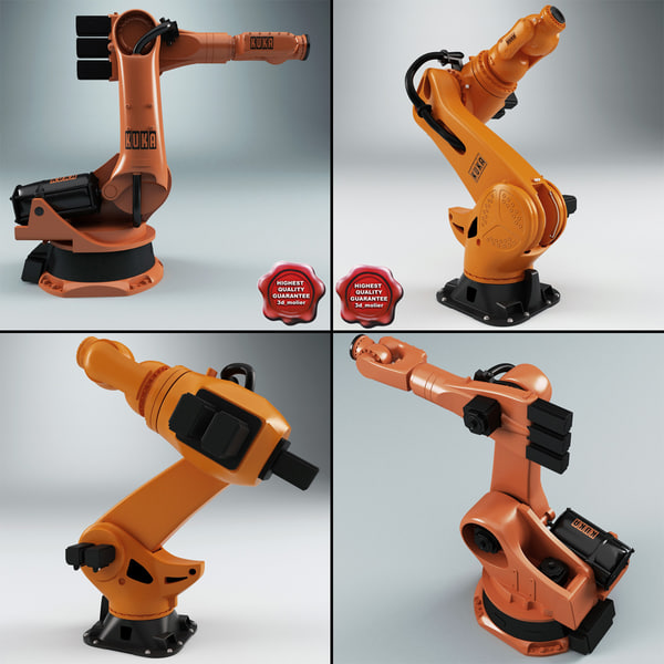KUKA Robots Collection 3D Models