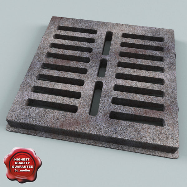 Sewer Grate Texture Maps