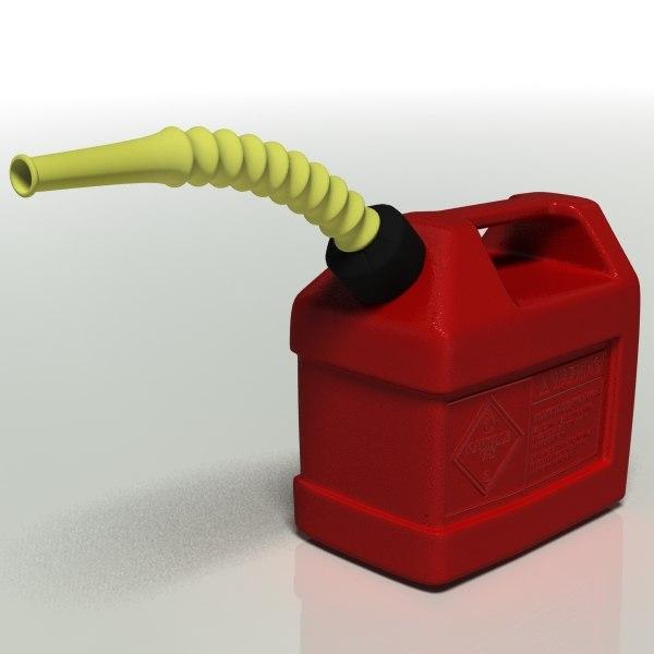 Fuel Tank 3d Model Gas Tank 3d Model