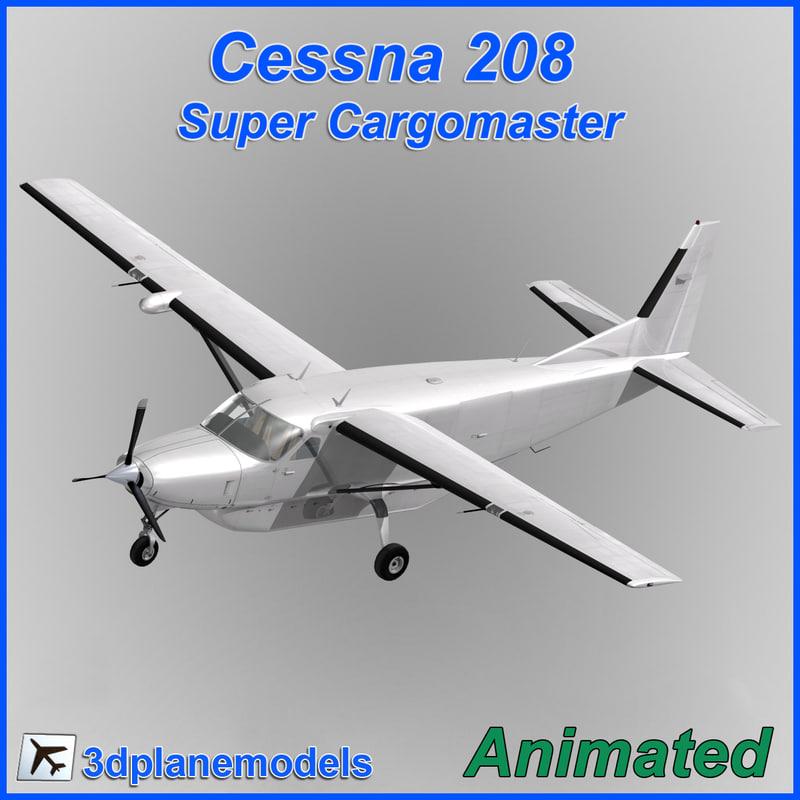 Cessna 208 Super Cargomaster Generic white