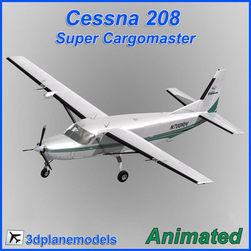 Cessna 208 Super Cargomaster Med Airlines