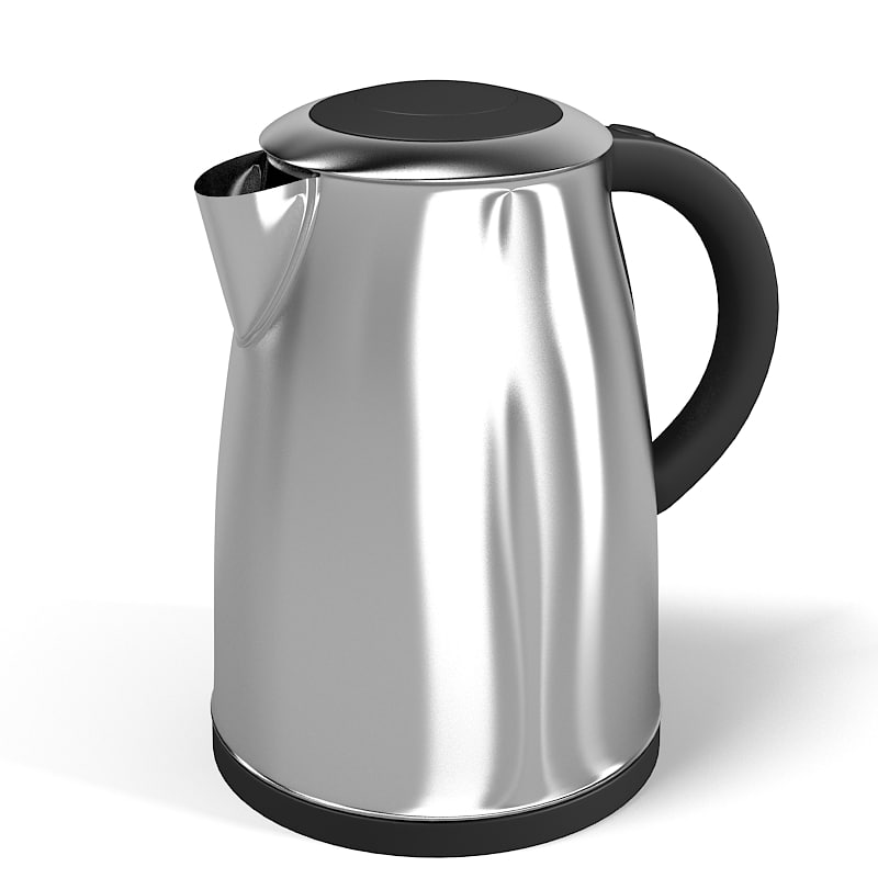 Electric kettle tot teapot modern contemporary stainless steel iron metal.jpg
