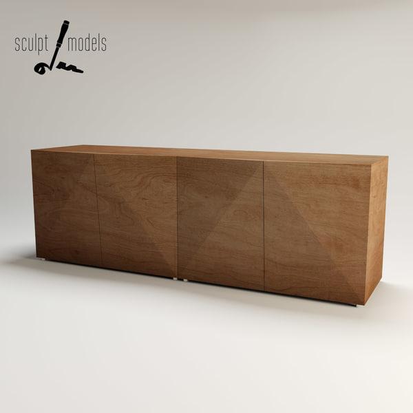 Not Riddled Sideboard 3D Models