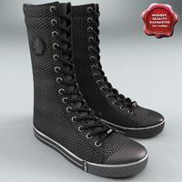 sneaker boot 3D models