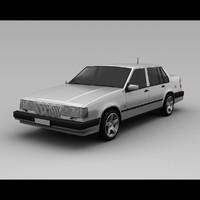 volvo 960 3D models