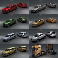 Renault Scenic 3D models