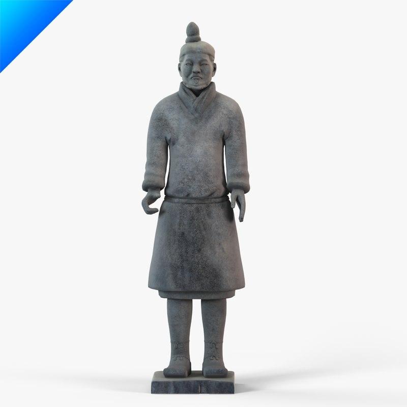 Terracotta Warriors-Warrior Figure