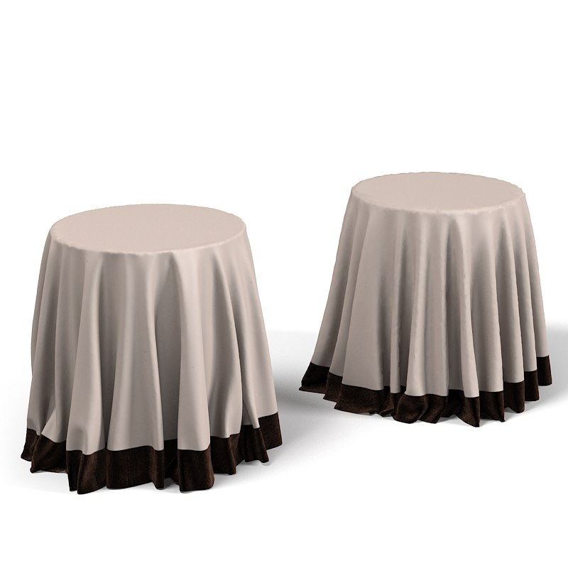Side Covered Draped Table Linen Classic Round Side Tablecloth Drape.jpg