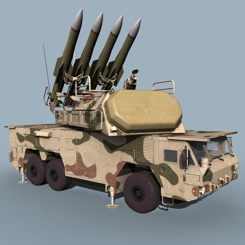 SA-17 Buk-M2E TELAR