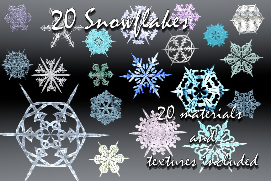 Snow Flakes Main.bmp