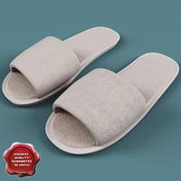 slipper 3D models