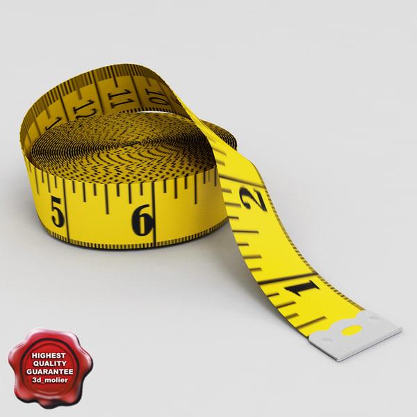 Tailor Meter V2 3D Models