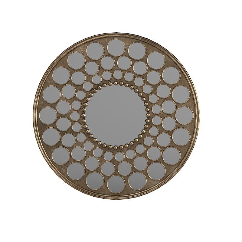 Utlermost Art round wall mirror designer designers modern contemporary accent decorative.jpg