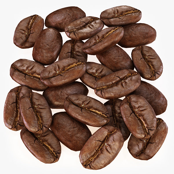 Coffee Beans 3D Models
