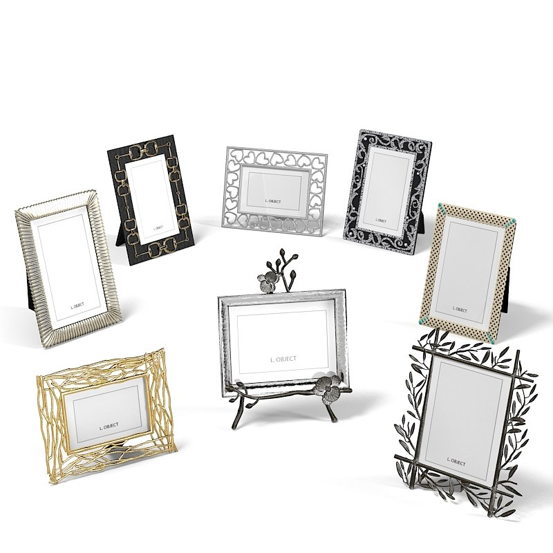 Photo frame set classic modern contemporary home decor accessory decoration art designer l`object collection.jpg