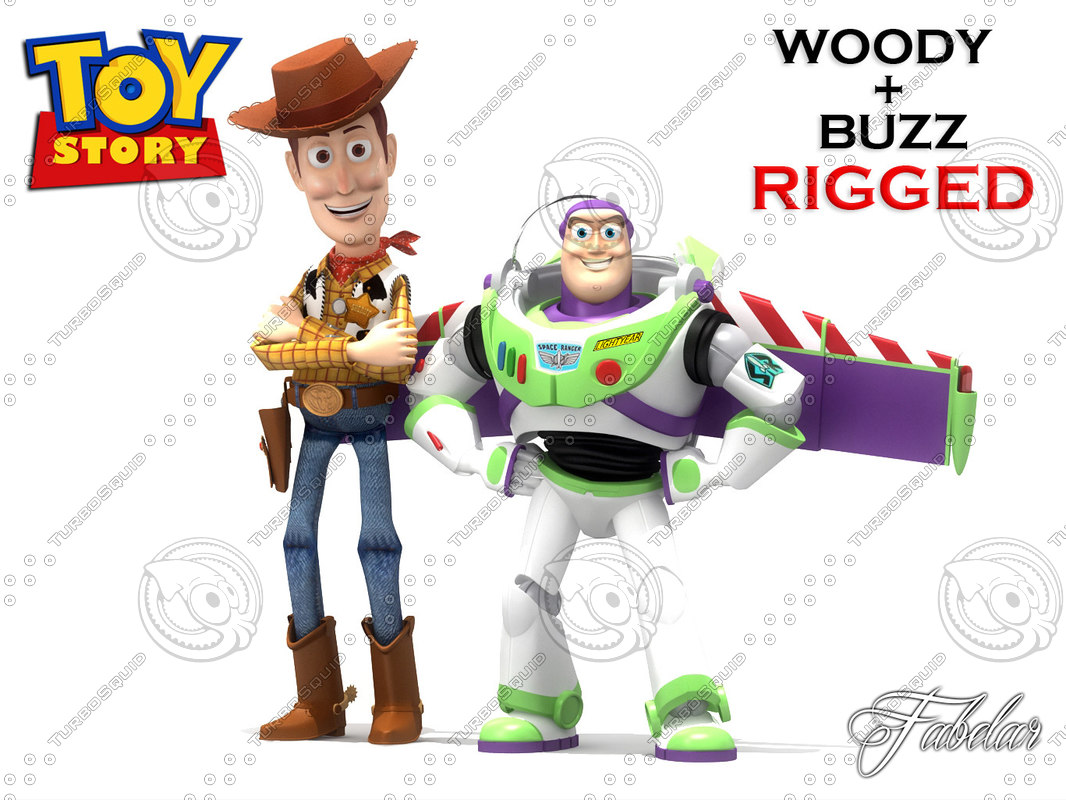 Buzz & Woody rigged