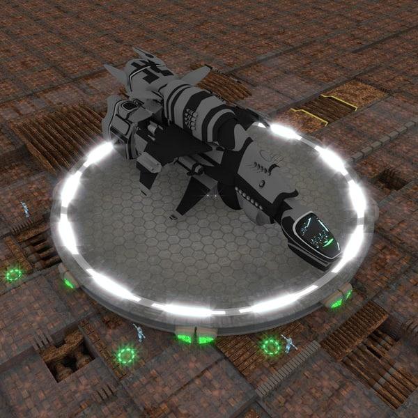 scoutship STARone 3D Models