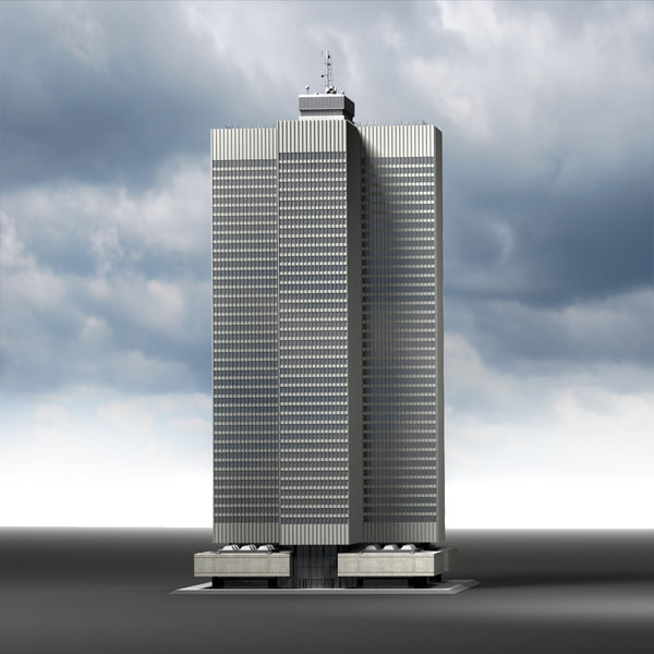 Place Ville-Marie (Montreal) 3D Models