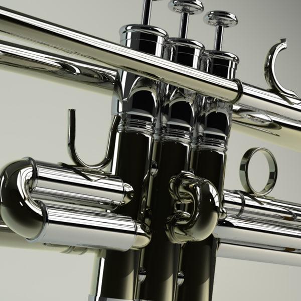 Trumpet 3D Models