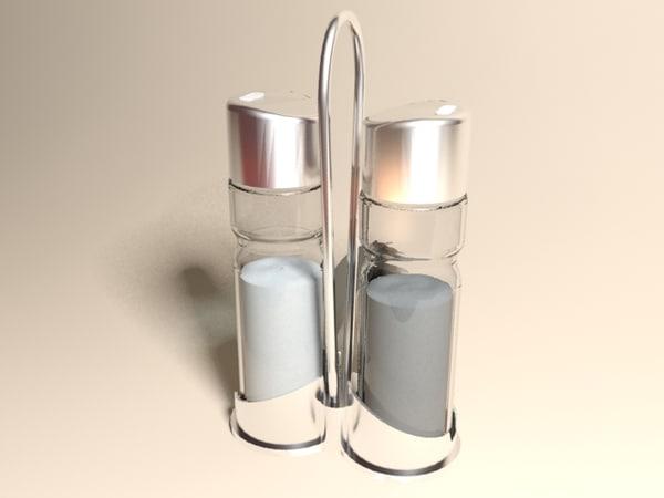 Salt & Pepper 3D Models